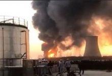 شاهد: انفجار ضخم في الصين - صحيفة هتون الدولية