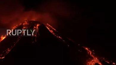 شاهد: ثوران بركان في صقلية بإيطاليا - صحيفة هتون الدولية