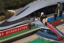 قطار صيني بسرعة الصاروخ - صحيفة هتون الدولية