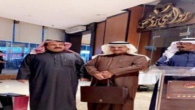 أصدقاء المقهى الثقافي بالطائف يحتفلون بحصول الخضري على الدكتوراه.