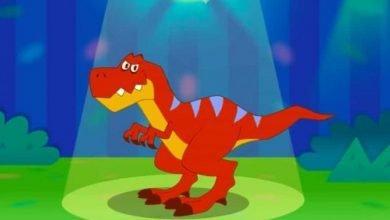 كيف ترسم ديناصور؟